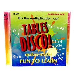 2 x CD-It's the Multiplication rap-Make Maths Fun To Learn CD Maths Fun, Table For 12, Cds For Sale, Times Tables, Multiplication, My Ebay, Rap, Learning, How To Make