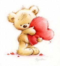 Marina Fedotova - Bear-keeps-the-heart.jpg