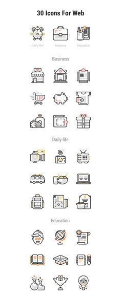 Pixel perfect web icons in Ai format.