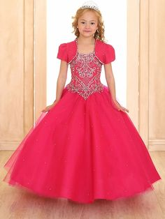Tulle corset back beaded layered lace flower girl dress Grad Dresses Short, Prom Dresses Two Piece, Prom Dresses Blue, Pageant Dresses, Pageant Hair, Pink Flower Girl Dresses, Lace Flower Girls, Tulle Ball Gown, Ball Gowns