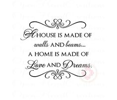 a house is made of walls and beams - Google Search