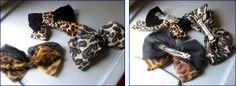 80s animal print hair bows (photo credit: Vintageheartbreaker)