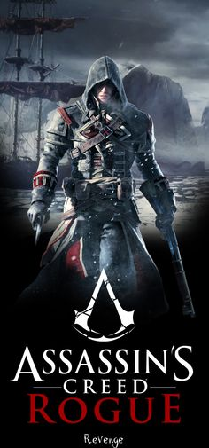 Assassin's Creed Poster (Large) - Shay by Ven93.deviantart.com on @deviantART