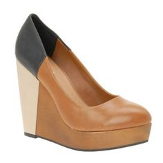change of heart thanks to refinery29 aldo streat #colorblock #platform #wedge #neutral