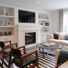 57 ideas for living room contemporary cozy built ins Contemporary Stairs, Contemporary Furniture, Contemporary Wallpaper, Contemporary Office, Contemporary Building, Contemporary Cottage, Contemporary Chandelier, Contemporary Architecture, Modern Contemporary