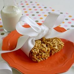 Peanut Butter Rice Crispy Treats by healthyfamilyandhome