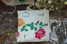 thick fabric cover scrapbook