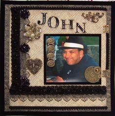 """""""In Remembrance of John"""" - Scrapbook.com"""