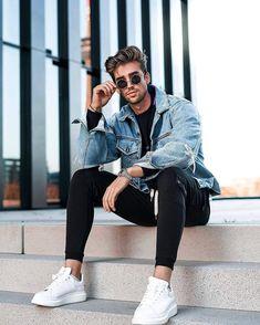 Latest Mens Fashion, Fashion Mode, Mens Fashion Suits, Style Fashion, Mode Man, Mens Fashion Sweaters, Street Wear, Men Street, Fashion Ideas