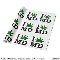 Weed Leaf Christmas maryland xmas hanukkah party