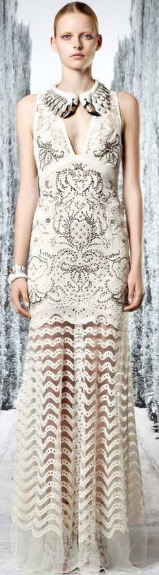 Roberto Cavalli 2013- I see my daughter in this amazing dress!