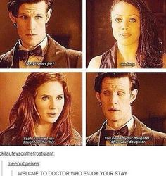 Welcome to Moffat's Doctor Who everyone. Enjoy your stay.