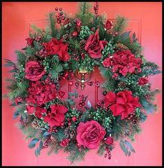 Wreaths: Decorative Door Wreaths, Luxury Christmas Wreaths - Luxury Winter Wreaths - Maplesville, AL