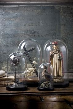 I want my house to look collected. Strategically placed oddities. Like Sherlock Holmes would hang out there.