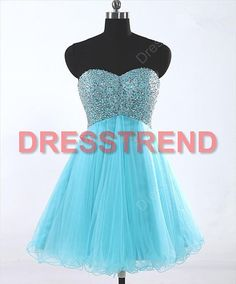 Blue Short Homecoming Dresses For prom party