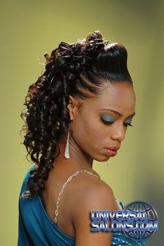 Hairstyles Gallery | Pinterest | Black hair salons, Salon style and ...