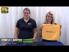 Buying Custom Rally Towels for Pep Rallies and High School Sports (+play...