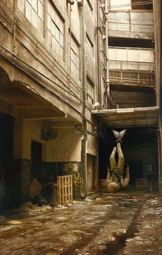 Paintings by Jeremy Geddes.
