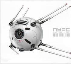 2087:  starsfive:  concept ships  sputnik 2.0