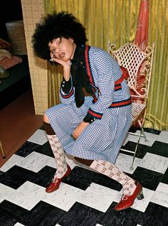Gucci's New Campaign Features Exclusively Black Models — & It's Amazing+#refinery29