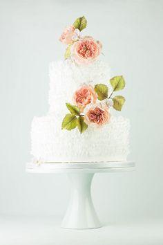 Frill cake  - Cake by linavebercake
