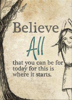 Believe all...