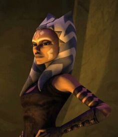 """I'm Ahsoka. Master Yoda sent me."""