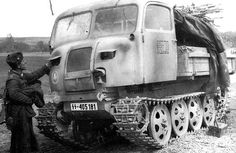 Steyr Raupenschlepper Ost RSO-01 (16.SS-Panzergrenadier-Division Reichsführer-SS) | by GLORY. The largest archive of german WWII images