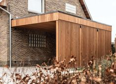 Garage Exterior, Carport Garage, Pergola Carport, Garage House, Modern Exterior, Exterior Design, Car Porch Design, House Fence Design, Building Design