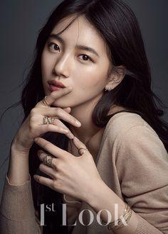 2c7f400acc60 Suzy Miss A Suzy, Look Magazine, Korean Girl, Korean Women, Jolie Asiatique