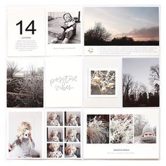 TONS of inspiration on the blog today from the creative team using the newest 4x6 photo templates Vol. 6. : @lucie.sindelkova #paisleepress