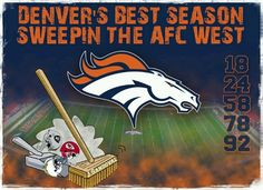 AFC West sweep