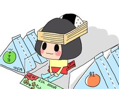 Nocchi Onigiri :3 How To Style Bangs, Messy Hairstyles, Updos, Family Guy, Fan Art, Fictional Characters, Girls, Up Dos, Toddler Girls