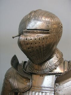 16th century armet helmet from the man-at-arms' harness