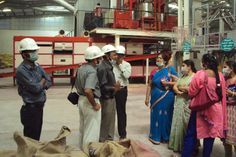 In the month of March 2014, a team Agricultural Scientists headed by Dr A Padmasree, Scientist and Head-SRTC from Acharya N G Ranga Agricultural University, Rajendranagar visited Kothur plant to have a practical exposure Seed Processing and Packing.