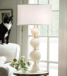 7010 Venetian Glass Lamp