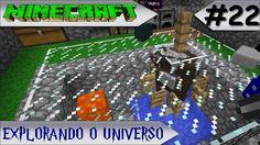 MINECRAFT - EXPLORANDO O UNIVERSO #22 FARM DE CARNE E COURO