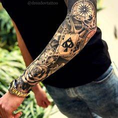 Half Sleeve Tattoos Forearm, Lion Tattoo Sleeves, Forarm Tattoos, Half Sleeve Tattoos Designs, Hand Tattoos For Guys, Cool Forearm Tattoos, Dope Tattoos, Best Sleeve Tattoos, Sleeve Tattoos For Women