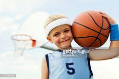 Foto de stock : Little Basketballer