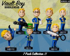 Bubleheads fallout série 3
