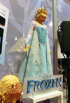 "Themed Parties  Serafini Amelia  Disney's ""Frozen""-Have Fun With Disney Themed Parties-Disney's ""Frozen""-Store Window Display-Child's costume"