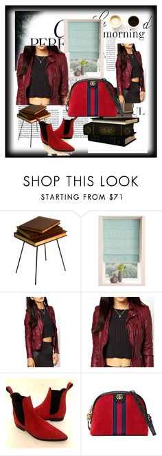 """""""REBELSMARKET.COM"""" by aleksandra111-983 ❤ liked on Polyvore featuring Oris, Whiteley, Valsecchi 1918, Gucci, men's fashion and menswear"""