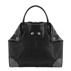 Black Studded Demanta Tote