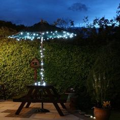 Amazon.com: EiioX 55ft/17m 100 LED white Solar Fairy String Lights for outdoor, gardens, homes, Christmas party: Patio, Lawn & Garden
