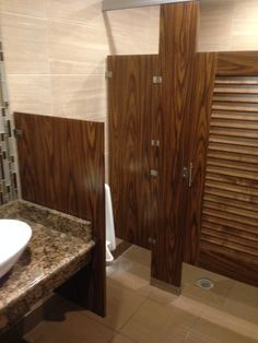 Ironwood manufacturing urinal privacy screen urinal and for Louvered bathroom stall doors