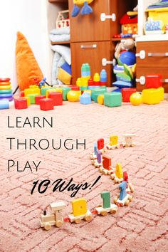10 Ways to Learn through Play this Summer - In The Playroom