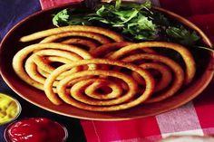 Nog leuker dan krulfriet: kaasfriet spiralen Ratatouille, Waffles, Fries, Sandwiches, Spaghetti, Brunch, Food And Drink, Appetizers, Potatoes