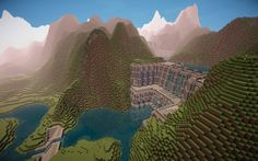 Awesome minecraft dam