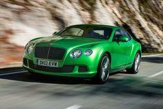 2013 Bentley Continental GT Speed.
