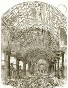 Old Photos of Liverpool, Maps and Liverpool History eBooks Liverpool History, Liverpool City, St Georges Hall, Hall Interior, Saint George, Old Photos, Taj Mahal, Ebooks, Building